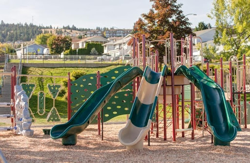 The benefits of slides in playgrounds